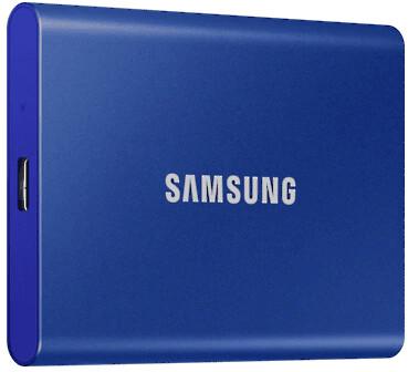 Samsung T7 - 2TB, modrá