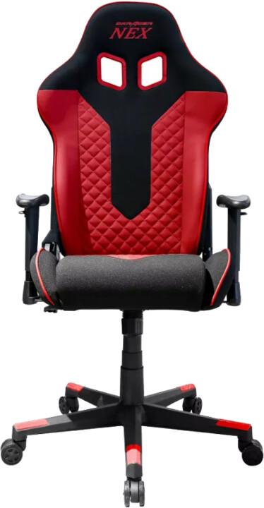 DXRacer Nex EC/OK01/NR, černá/červená