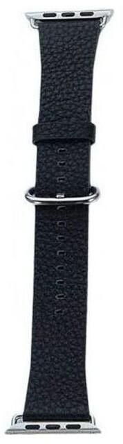 COTEetCI kožený řemínek pro Apple Watch, 42 - 44mm, černá
