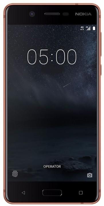 Nokia 5, Single Sim, měděná