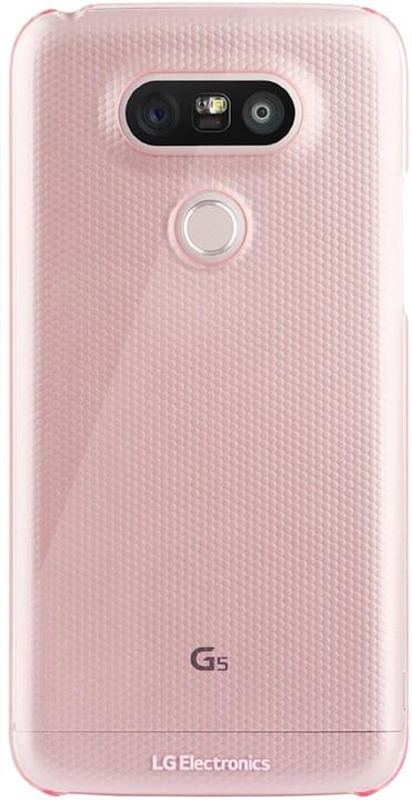LG zadní ochranný kryt pro LG G5, růžová