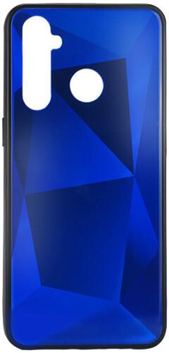 EPICO zadní kryt COLOUR GLASS pro Realme 5 Pro, modrá
