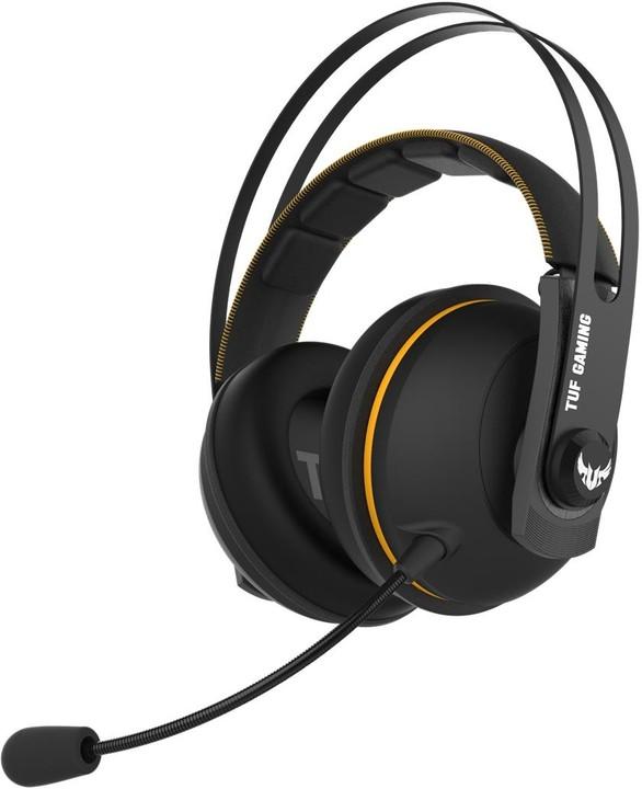 ASUS TUF Gaming H7 Wireless, černá/žlutá