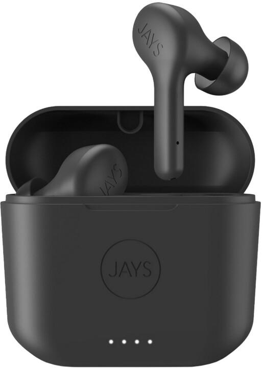 JAYS f-Five TWS, černá