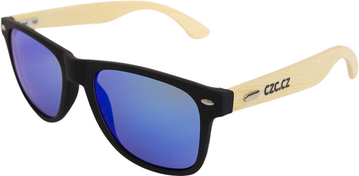 Bambusové GEEK brýle (modré)