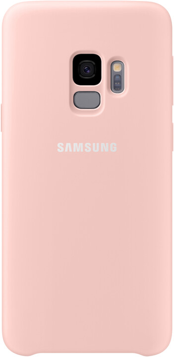 Samsung silikonový zadní kryt pro Samsung Galaxy S9, růžový