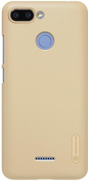 Nillkin Super Frosted zadní kryt pro Xiaomi Redmi 6, zlatý