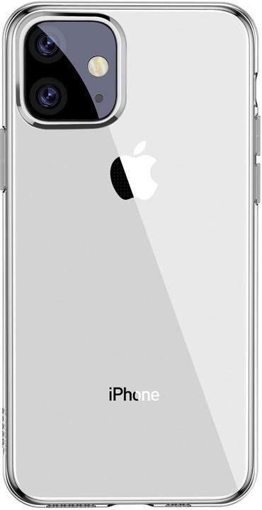 BASEUS Simplicity Series gelový ochranný kryt pro Apple iPhone 11, čiré