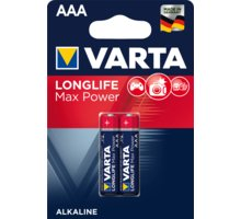VARTA baterie Longlife Max Power AAA, 2ks - 4703101412