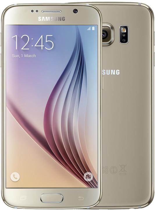 Samsung Galaxy S6 - 32GB, zlatá