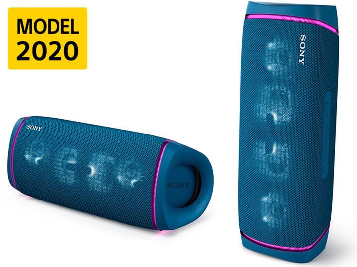 Sony SRS-XB43, modrá