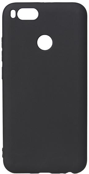 EPICO pružný plastový kryt pro Xiaomi Mi A1 SILK MATT - černý