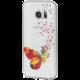 EPICO pružný plastový kryt pro Samsung Galaxy S7 SPRING BUTTERFLY  + EPICO Nabíjecí/Datový Lightning kabel EPICO SENSE CABLE