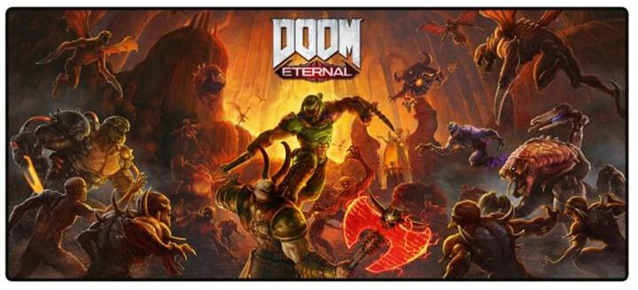 Podložka pod myš Doom: Eternal - Keyart