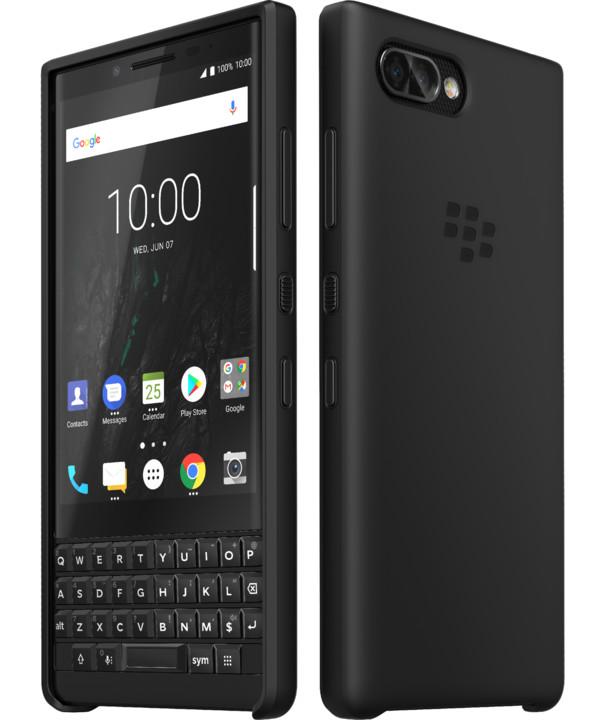 BlackBerry KEY2 Soft Shell silikonový kryt, černá