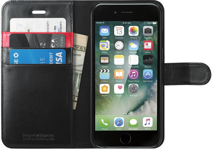 Spigen Wallet S pro iPhone 7, black