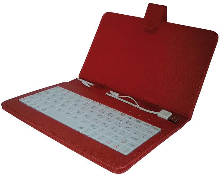 iGET 10.1'' pouzdro s klávesnicí F10R, červená