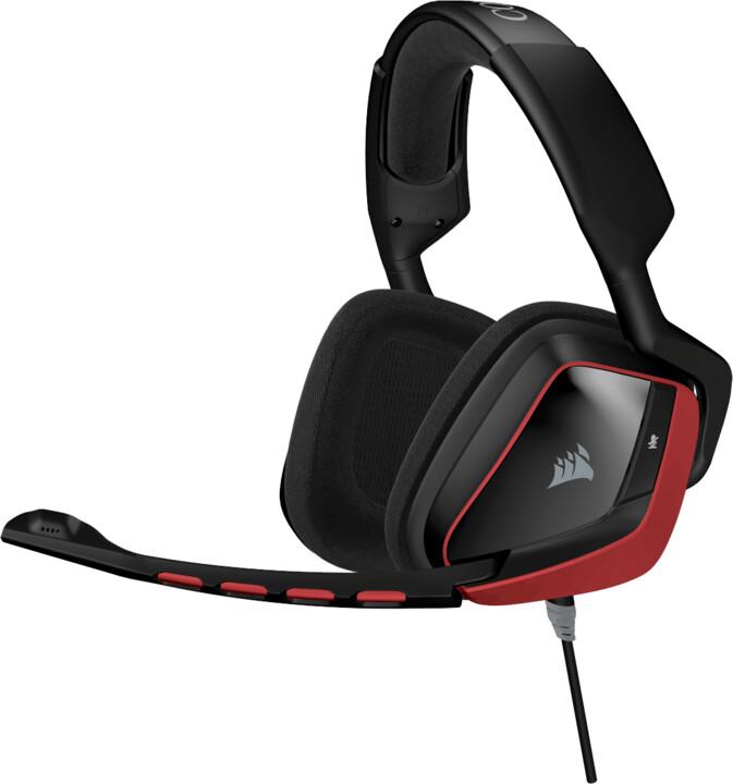 Corsair Gaming VOID Surround Hybrid, červená
