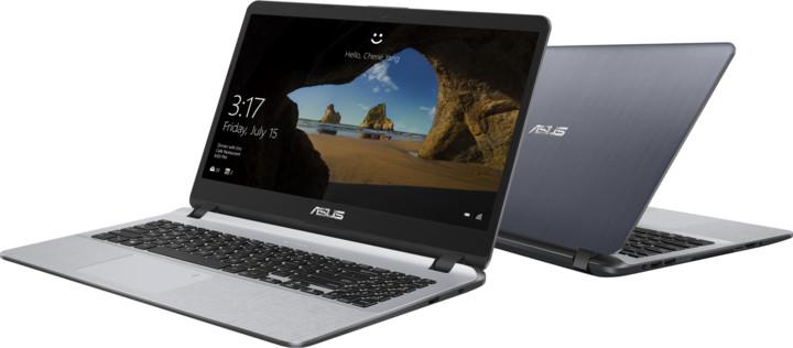ASUS VivoBook X507UF, šedá