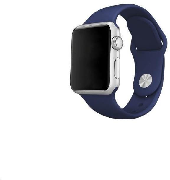 COTEetCI silikonový řemínek pro Apple Watch, 38/40mm, modrá
