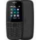 Nokia 105 2019 (TA-1174), Dual Sim, Black  + DIGI TV s více než 100 programy na 1 měsíc zdarma