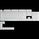 Glorious vyměnitelné klávesy GPBT, 114 kláves, Arctic White, US