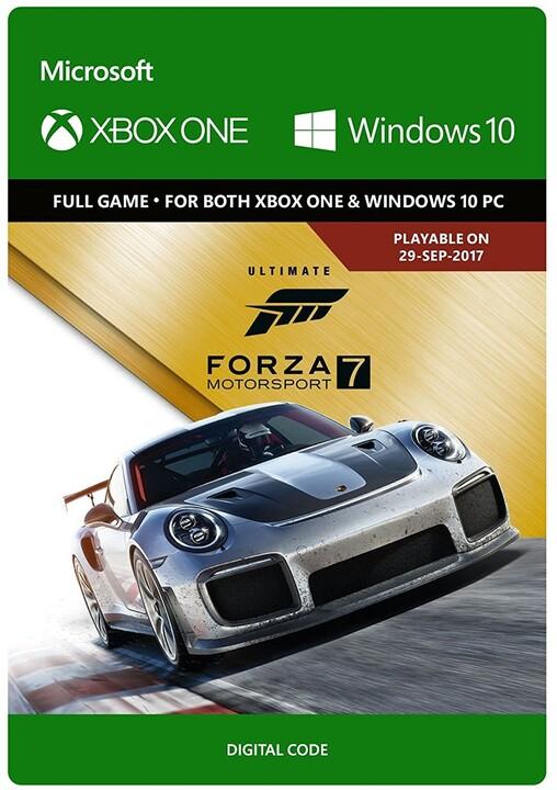 Forza Motorsport 7: Ultimate Edition (Xbox Play Anywhere) - elektronicky