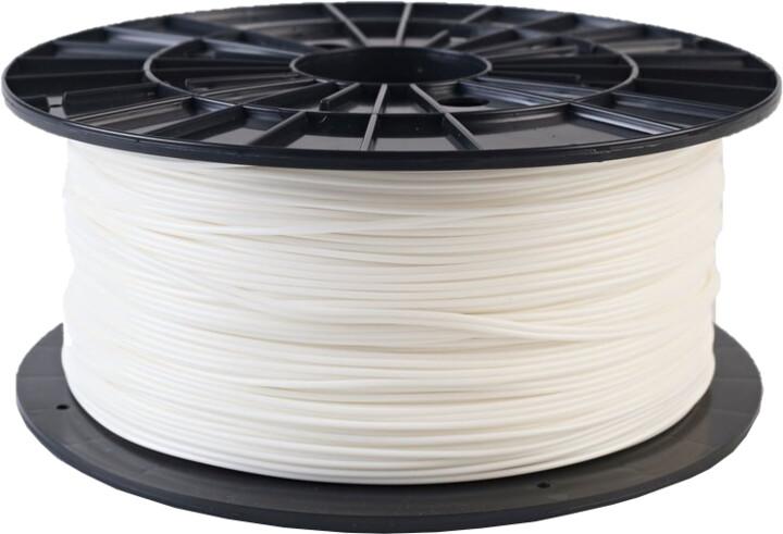 Filament PM tisková struna (filament), PLA, 1,75mm, 1kg, bílá