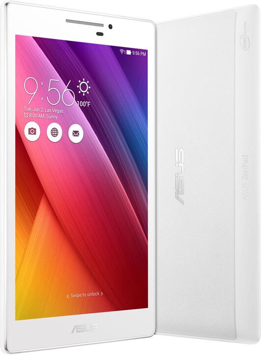 "ASUS ZenPad 7"" - 16GB, bílá + pouzdro s baterií"