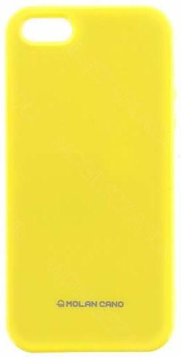 Molan Cano Jelly TPU Pouzdro pro Xiaomi mi A1, žlutá