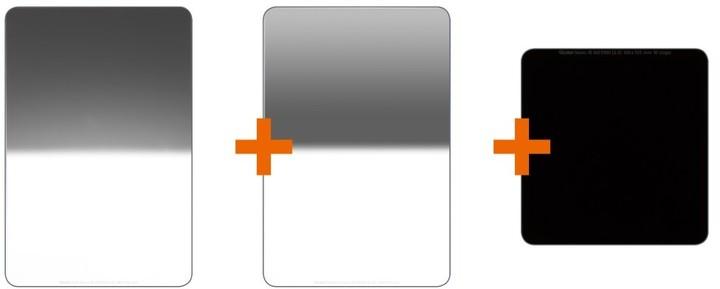 Rollei Advanced filter set/3x filtry v balení/velikost 100 mm