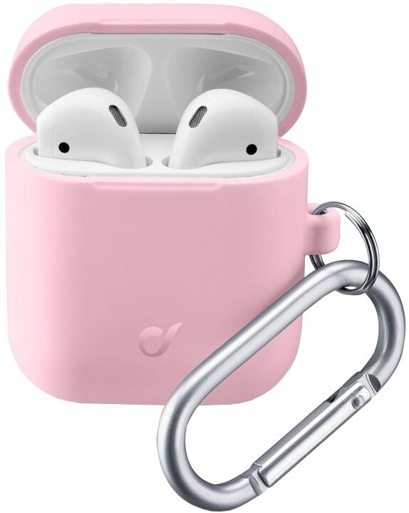 Cellularline Bounce ochranný kryt pro Apple AirPods, růžová