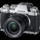 Fujifilm X-T3 + XF18-55 mm, stříbrná