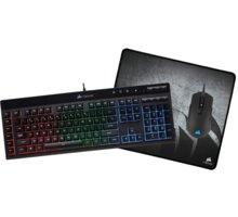 Corsair 3-in-1 Gaming Bundle Set, černý, US