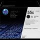 HP CE255XD, černý, dual pack