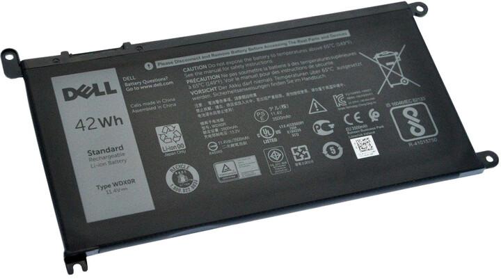 Dell Baterie 3-cell 42W/HR LI-ION pro Inspiron 5378, 5379, 5567, 5770, Vostro 5468, 5568, 5471, 5581