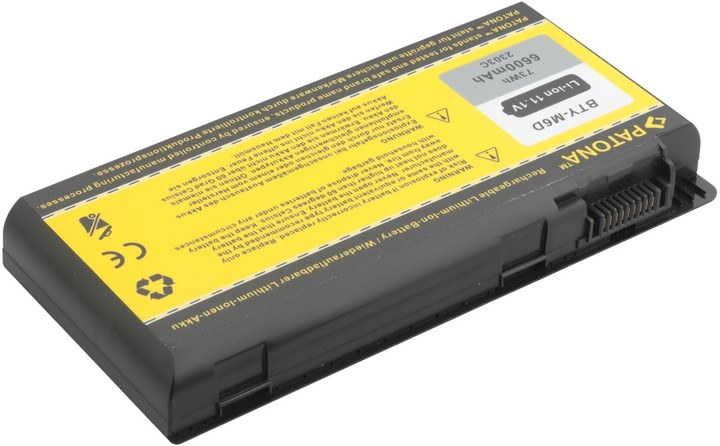 Patona baterie pro MSI BTY-M6D 6600mAh 11,1V