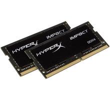 HyperX Impact 32GB (2x16GB) DDR4 3200 SO-DIMM CL 20 - HX432S20IBK2/32