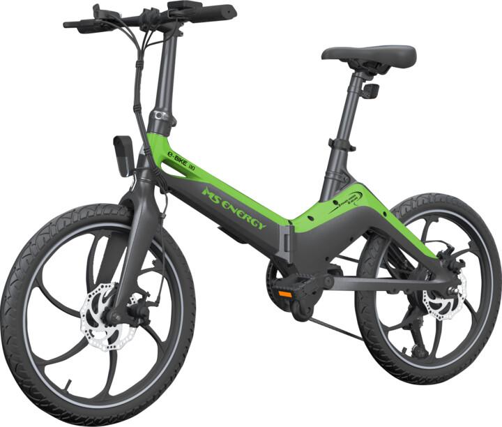 Vivax elektrické kolo MS ENERGY e-bike i10, černo-zelená