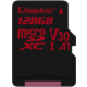 Kingston Micro SDXC Canvas React 128GB 100MB/s UHS-I