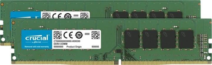 Crucial 8GB (2x4GB) DDR4 2400