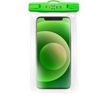 FIXED vodotěsné pouzdro Float Edge pro mobilní telefony, univerzální, IPX8, zelená - FIXFLT-EG-LM