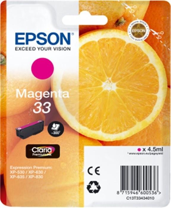 Epson C13T33424010, purpurová