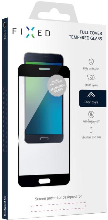 FIXED Full-Cover ochranné tvrzené sklo pro Huawei Mate 10, přes celý displej, černé