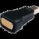 Gembird CABLEXPERT kabel miniDisplayport na VGA, M/F, černá