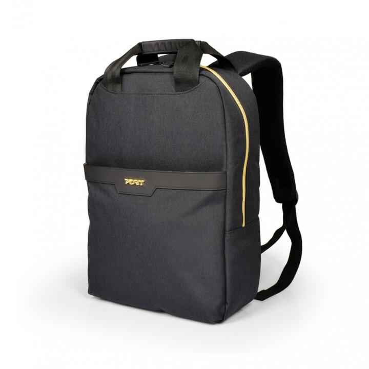 """Port Design CANBERRA batoh pro notebook 13/14"""", černá"""