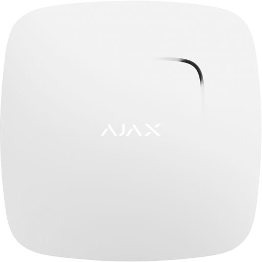 Ajax FireProtect - Bezdrátový detektor kouře, bílá