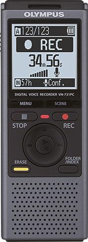 Olympus diktafon VN-731PC, šedá
