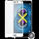 Screenshield temperované sklo na displej pro Honor 6X full COVER metalic frame, bílá