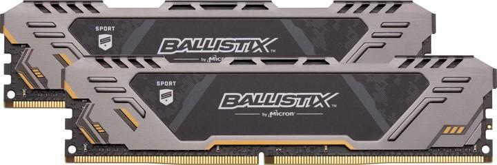 Crucial Ballistix Sport AT 32GB (2x16GB) DDR4 3200